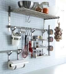 barre ustensiles cuisine inox barre ustensiles cuisine inox astuces rangement cuisine a faire soi