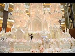 the and the grandest wedding cake in indonesia