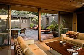 home courtyard a functional courtyard is ideal home house modern