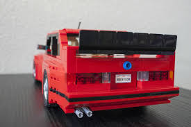 lego mitsubishi evo support this lego bmw e30 m3 evo now