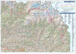 Himilayas Map Great Himalaya Trail Ght Knowledge Base Maps Trekking