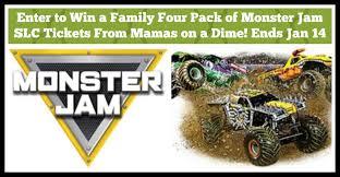 utah enter win monster jam tickets mamas dime