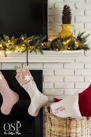 White Christmas Mantel Ideas by Diy Christmas Mantel Decor Ideas On Sutton Place