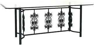 wrought iron table base for granite wrought iron table base