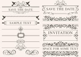 vintage wedding ornament brushes free photoshop brushes at