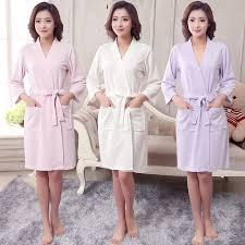 robe de chambre été nouveau femmes d été serviette kimono bath robe demoiselle d honneur