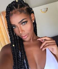 braids stysle with people with no egdes 42 chunky cool jumbo box braids styles in every length part 6