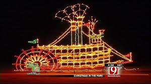 yukon ok christmas lights christmas spirit in the air in yukon news9 com oklahoma city ok