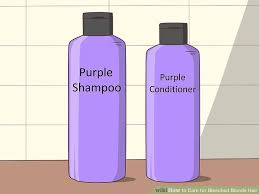 4 Ways To Care For Bleached Blonde Hair Wikihow