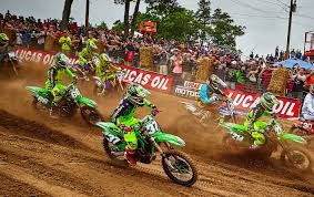 professional motocross racing monster energy pro circuit kawasaki ready for spring creek