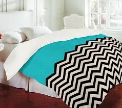 Black And White Chevron Bedding Umm This Chevron Aqua Bedspread I Need It Put This In My