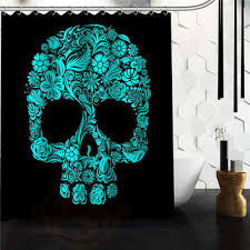 Teal And Brown Shower Curtain Best Brown Shower Curtains With Flowers Products On Wanelo