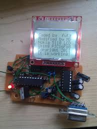 interfacing nokia 3510i and 5110 lcd with pic microcontroller