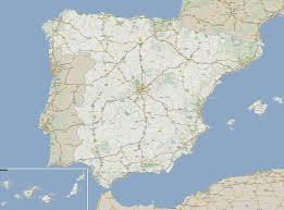 Spain Portugal Map by Large Detailed Roads Map Of Spain And Portugal Vidiani Com