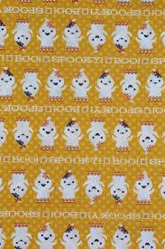 halloween fabric 4 yards halloween ghosts happy ghosts