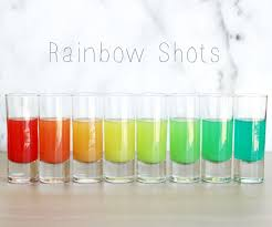 how to make rainbow shots 8 steps with pictures