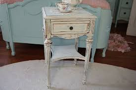 unique shabby chic white nightstand u2014 new decoration soft and