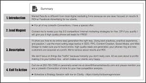 linkedin summary best practices how to optimise your linkedin profile to generate targeted leads