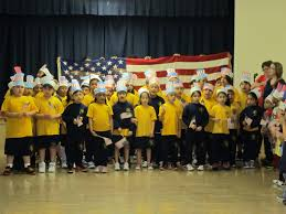 St Thomas Flag Sta Students In Woodhaven Celebrate Our Flag