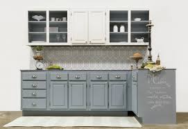 Sealing Painted Kitchen Cabinets by Kitchen Makeover Before And After Amy Howard At Home