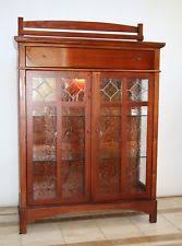mission style china cabinet arts crafts mission style china cabinets ebay