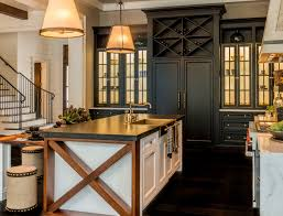 wood kitchen cabinets with white island how to design a non white kitchen home bunch interior