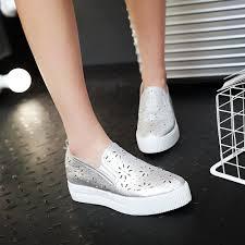 popular white dress shoes for women flat buy cheap white dress