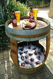 Cooler Patio Table Outdoor Cooler Table How To Make A Patio Table With Built In