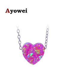 sterling silver wedding gifts ayowei 925 sterling silver wedding gift heart shaped purple