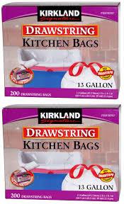 Kirkland Signature Patio Heater by Kirkland Signature Drawstring Kitchen Trash Bags 13 Gallon 200