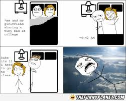 Sharing Bed Meme - sharing a bed at college thefunnyplanet funny pictures epic