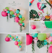bae flowers and balloon at floral balloon arch diy floral designs at afloral