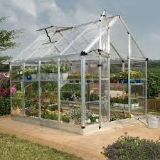 Palram Harmony 6 X 8 Polycarbonate Greenhouse Diy