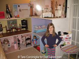 gorgeous built american doll dollhouse doll diaries