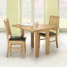 Fold Up Dining Room Table Oiled Oak Fold Up Dining Table And 2 Chairs