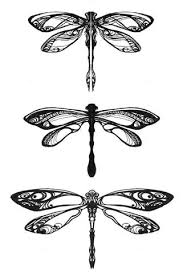 detailed and pretty dragonflies these would be beautiful with