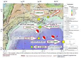 Earthquake Incident Map Gulf Of Mexico Earthquake The Louisiana Sinkhole Bugle