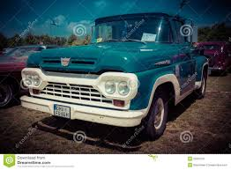 Vintage Ford Pickup Truck - full size pickup truck ford f100 editorial photography image