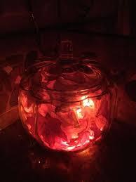 Home Decor With Lights Easy Fall Decor With A Glass Pumpkin Jar Hometalk