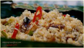 cara membuat nasi bakar khas bandung grilled rice with salted fish squid c nt a resep