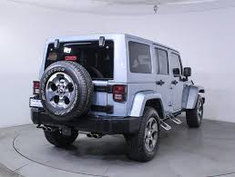 Used 2012 Jeep Wrangler Unlimited Sahara Artic Edition Suv For