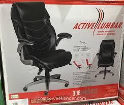 fresh true wellness active lumbar office chair 75 for interior