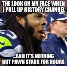 History Channel Meme Maker - seahawks imgflip