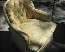 Upholstered Chairs Living Room Upholstered Rocker Etsy