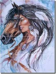 25 unique native american paintings ideas on pinterest horse