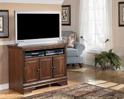 Ashley Home Furniture Amazon Com Burnished Brown Tv Stand Signature Design By Ashley