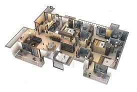 four bedroom townhomes 50 four 4 bedroom apartment house plans architecture design