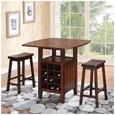pub table with wine rack 3 piece wine rack pub set at big lots i wish this was a table for 4