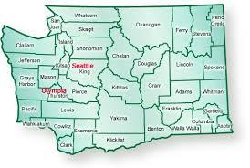 map of washington wa map
