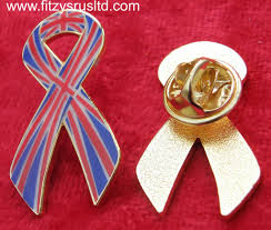 jack awareness flag ribbon lapel pin badge brooch great britain gb